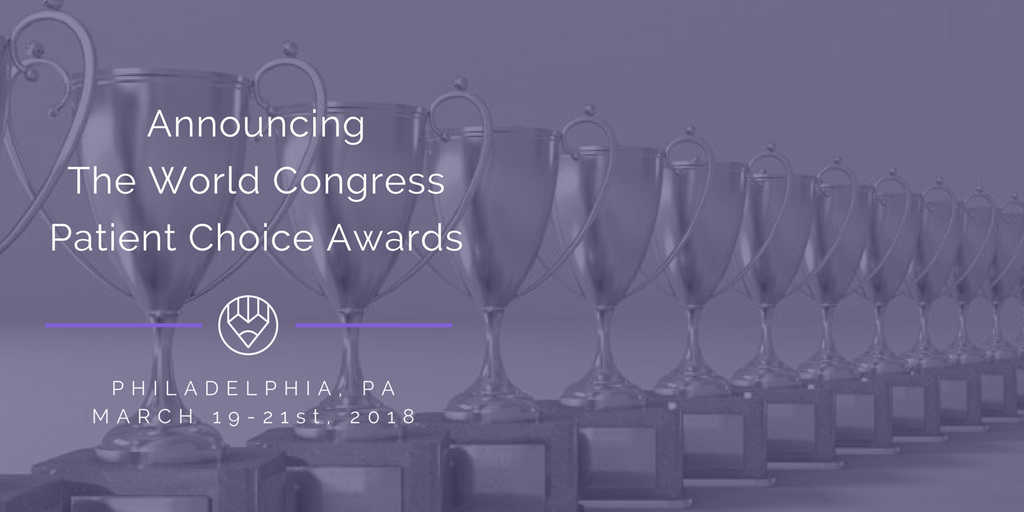 Announcing The World Congress Patient Choice Awards